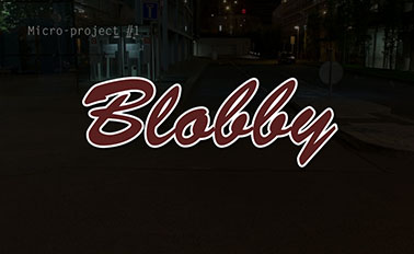 Blobby (micro-project #1)